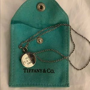 Tiffany & Co. Retired Round 1837 Circle Pendant